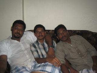 Me, Jaswardeen and Sadiq