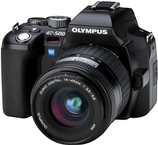 Olympus E-500 digital SLR