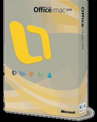 Microsoft Mac Office 2008