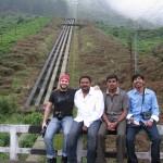 Group picture: Iyad, Imthi, Sebi and Nygil