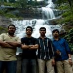 Group picture: Imthi, Nishanth, Sebi and Nygil