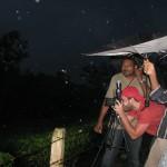 Photographer Iyad Tibi taking picture while it was raining..!!