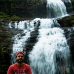 Iyad Tibi at waterfalls