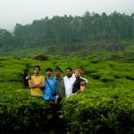 The whole gang: Nishanth, Nygil, Sebi, Imthi and Iyad