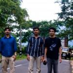 Three musketeers of Flip Trivandrum : Nygil, Sebi and Nishanth