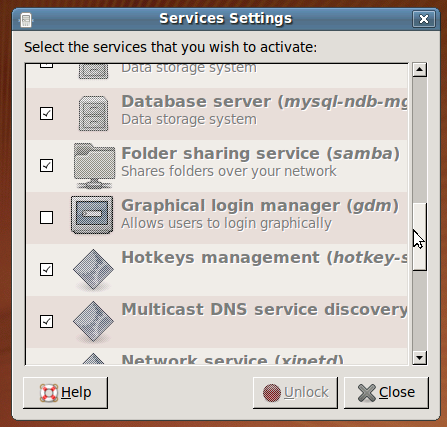 gnome-service-manager