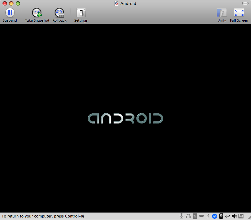 Android Logo Splash Screen