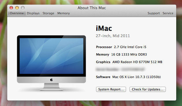 Upgrading Ram For My 27 Inch Imac Mid 2011 Imthiaz Blog