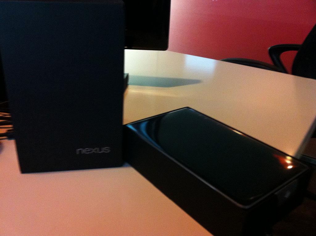 Nexus 7 Unboxed
