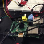 Connections with Raspberrry Pi and MPR121