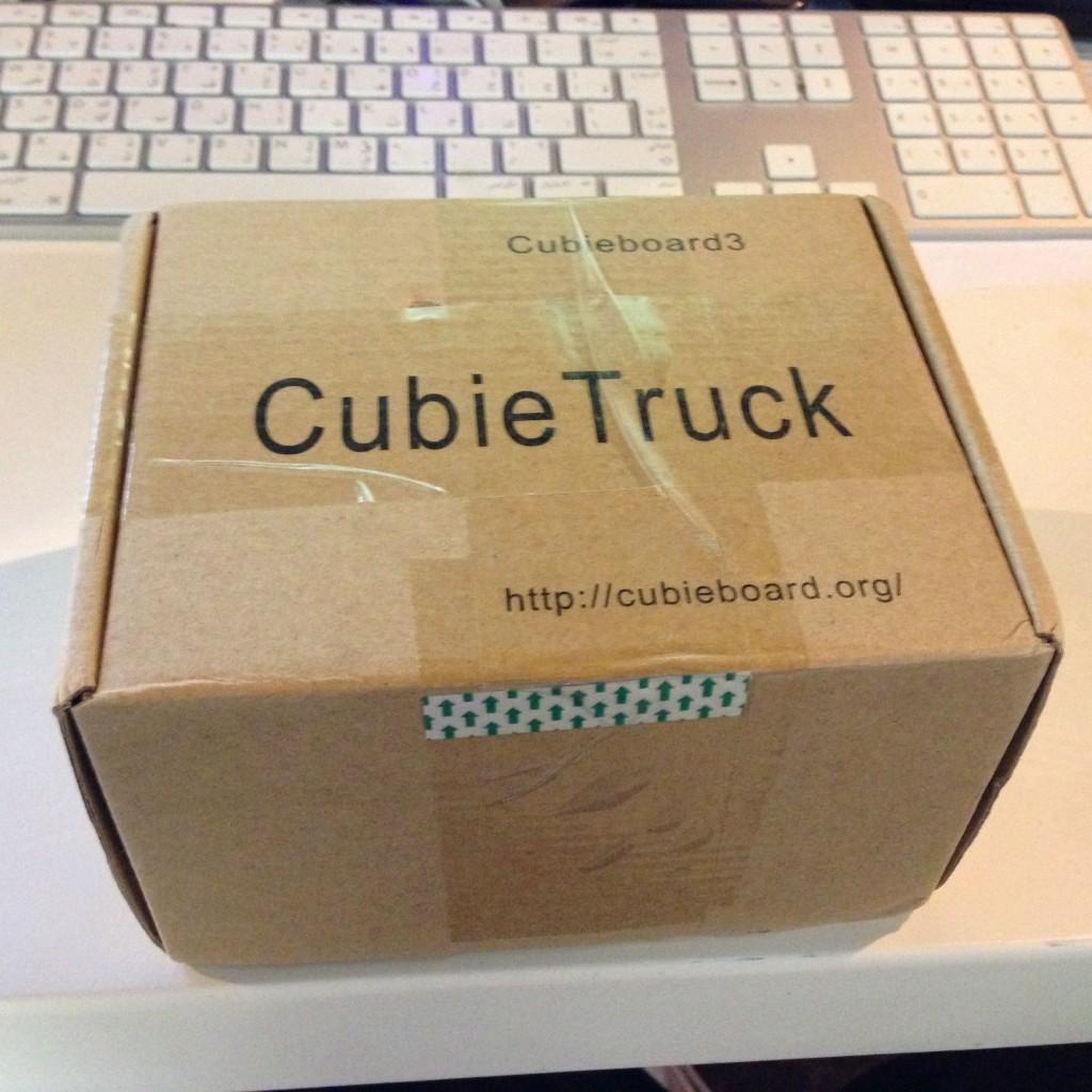 CubieTruck Unboxing 1