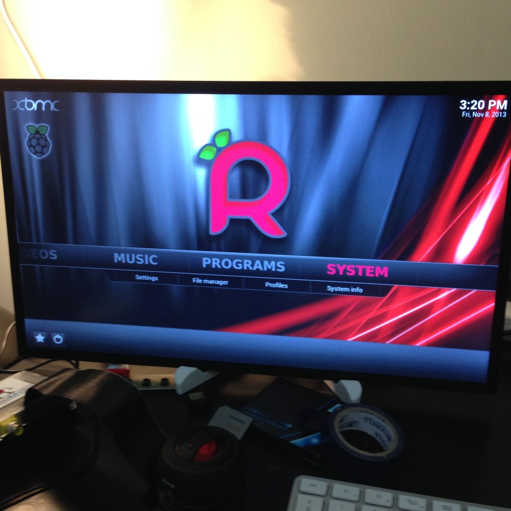 XBMC Screen On Able-HD Screen