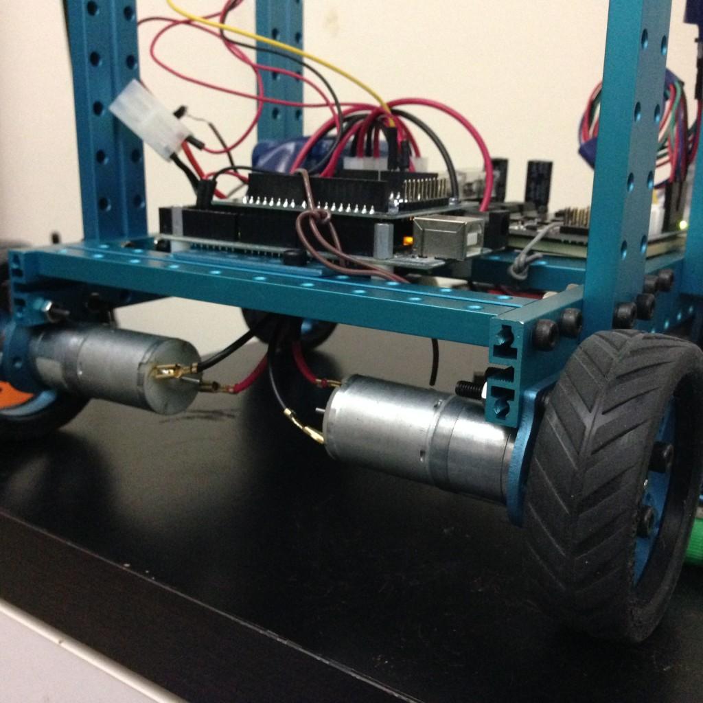 Robotic Car Down Angle