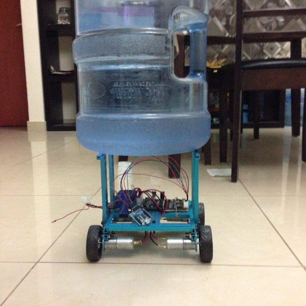Robotic Car With 15 Kilo Load