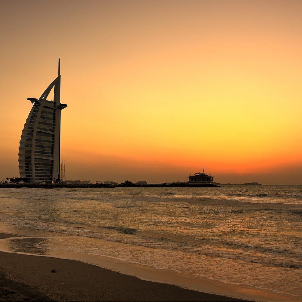 Jumeirah Sunset 01