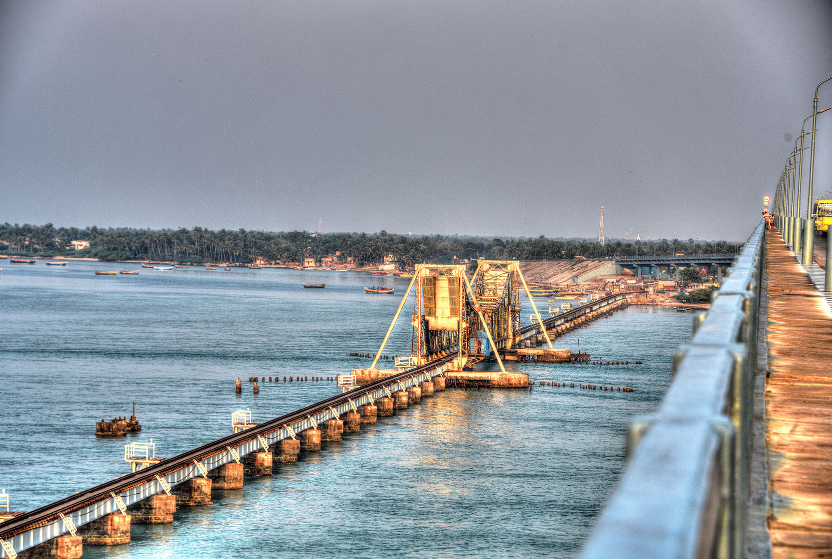Amazon Organizer Pamban Bridge Photograhps Imthiaz Blog