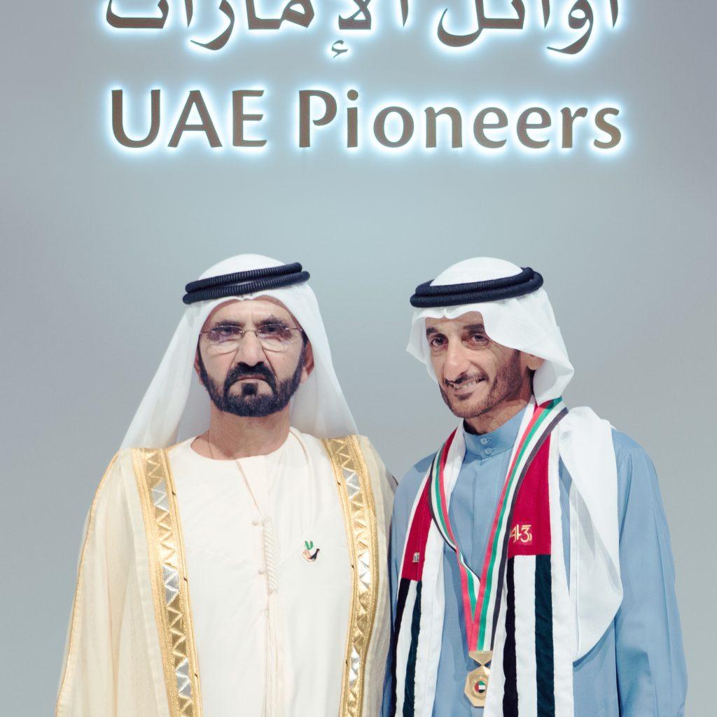 Sheikh Ahmed Bin Mohammed Bin Hasher Al Maktoum - First Emirati Olympic Gold Medalist