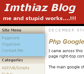 Menu manager for wordpress front screenshot
